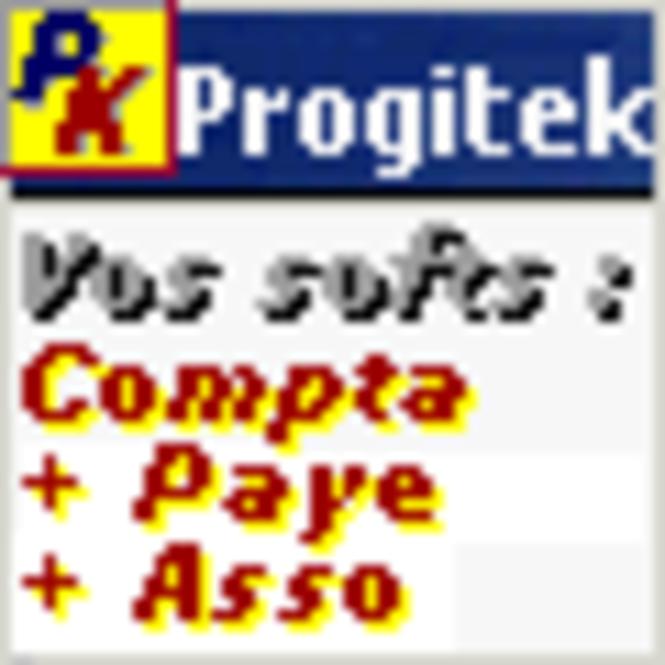 Progitek Comptabilité, Paye, Adhérents et Immobilisations Screenshot 1