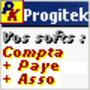 Progitek Comptabilité, Paye, Adhérents et Immobilisations 1