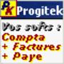 Progitek Comptabilité, Facturation, Paye et Immobilisations 1