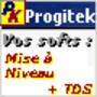 Progitek Mise à niveau vers la version 10.x et Assistance 1an par e-mails 1