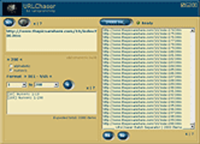 URLChaser Screenshot 2