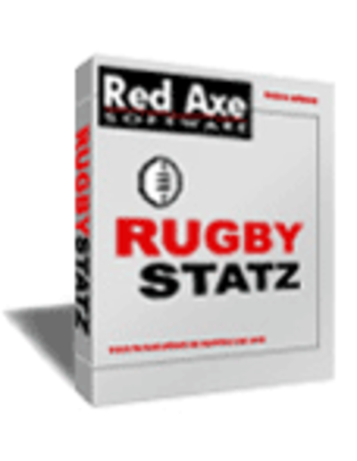 Rugby Statz Professional Edition - Club-wide License Screenshot