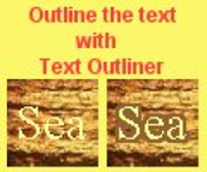Text Outliner Screenshot 1