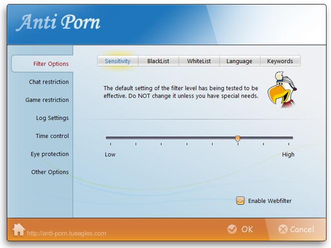 Anti-Porn Parental Controls Screenshot 1