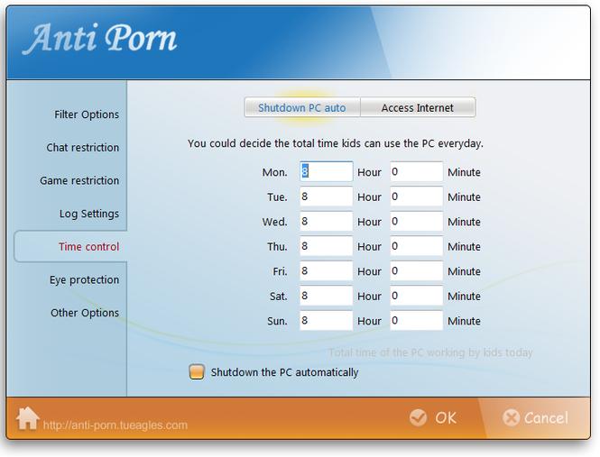 Anti-Porn Parental Controls Screenshot 4