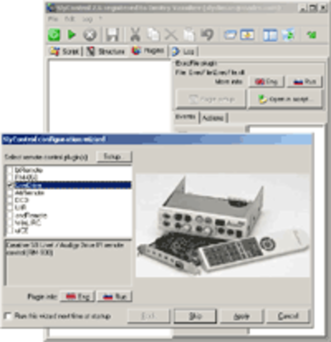SlyControl Screenshot