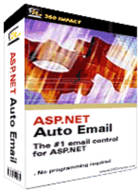 ASP.NET Auto Email (Web Site License) Screenshot