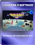 UNIVERSA 98 (R) Registrierung ALLE Module 1