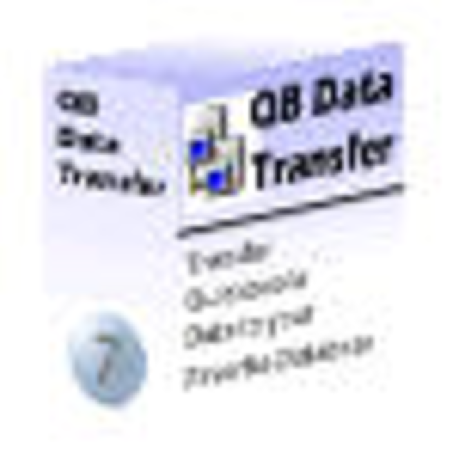 QB Data Transfer - MS SQL Server Screenshot