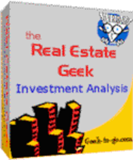 The Real Estate Geek for Palm OS 5 Screenshot