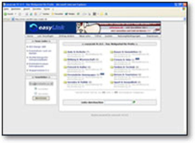 easyLINK - Einzelplatz Screenshot 1