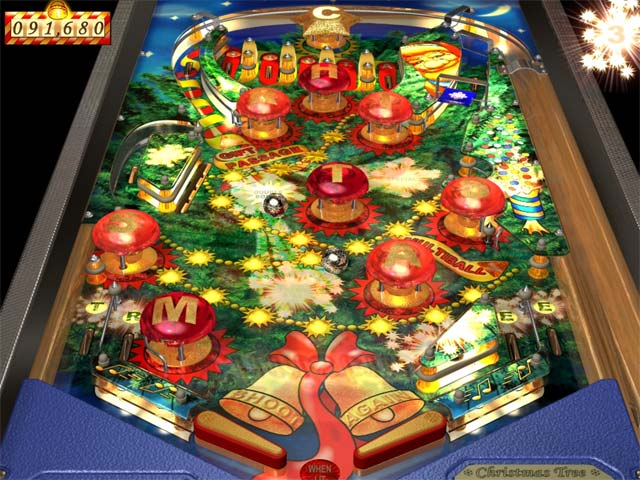 WildSnake Pinball: Christmas Tree Screenshot