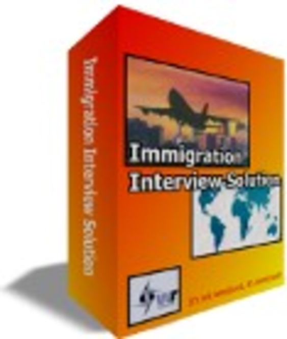 Immigration Interview Solution - Software Engineer / Programmer Screenshot