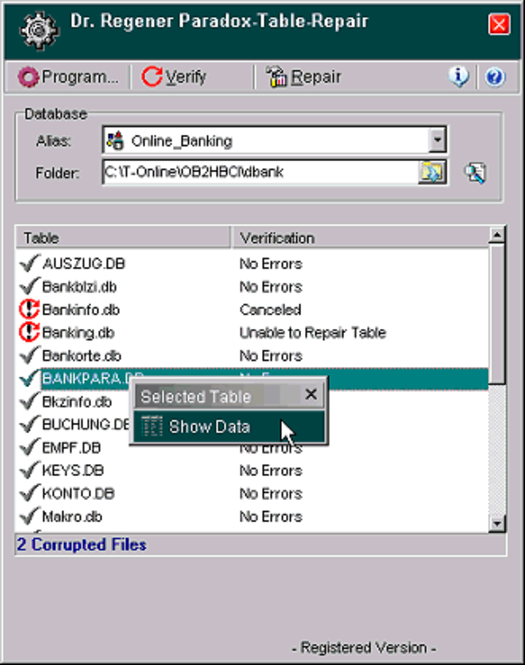 Dr. Regener PdxRepair 4 Screenshot