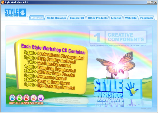 Style Workshop Screenshot