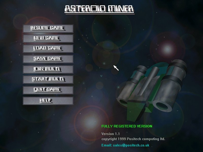 Asteroid Miner Screenshot 1