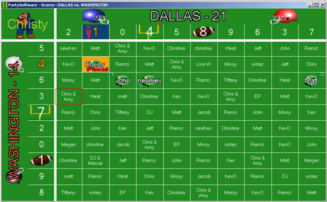 Football Squares Screenshot
