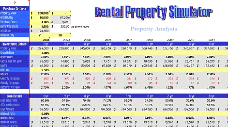 Rental Property Simulator Screenshot 1