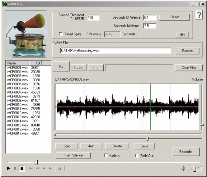 WAVChop Screenshot 1