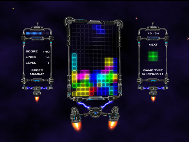 CosmoBlocks Screenshot