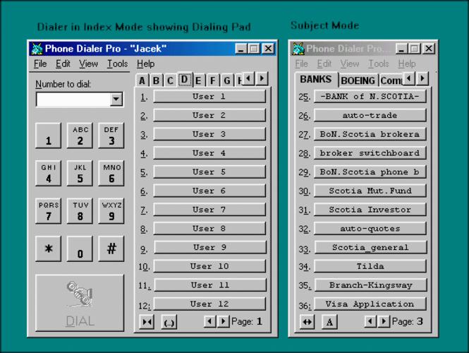 Excel Dialer Pro Screenshot