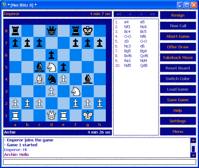 Net Blitz Screenshot