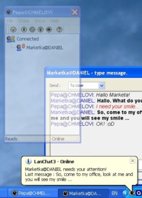 LanChat3 Screenshot