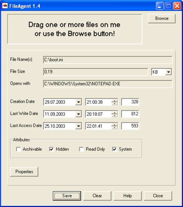 FileAgent Screenshot