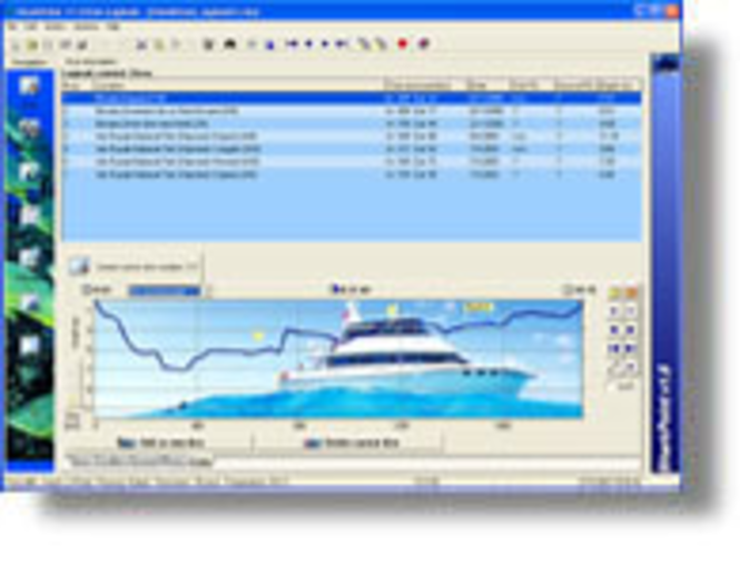 SharkPoint  v1 for Windows (Palm companion) Screenshot 1