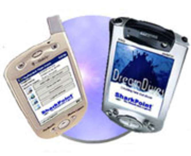 SharkPoint v1 for PocketPC Screenshot