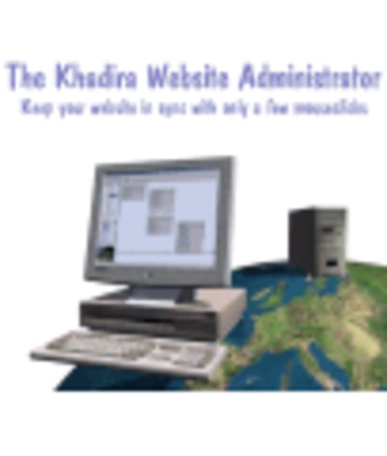 Khadira Website Administrator Screenshot