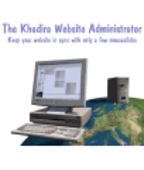 Khadira Website Administrator Screenshot 1