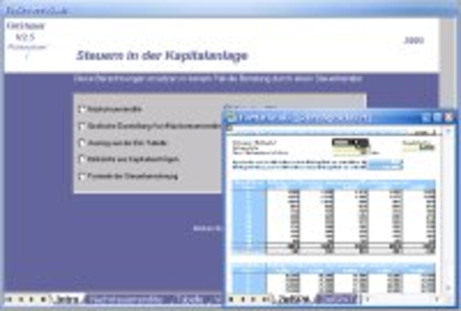 FinSteuer Screenshot