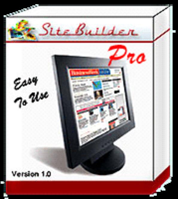SiteBuilder Pro Screenshot