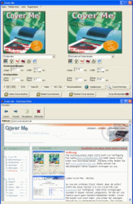 Cover Me 2.3 Screenshot