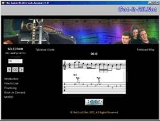 Bass Blues Guitar Licks and Riffs Screenshot 1
