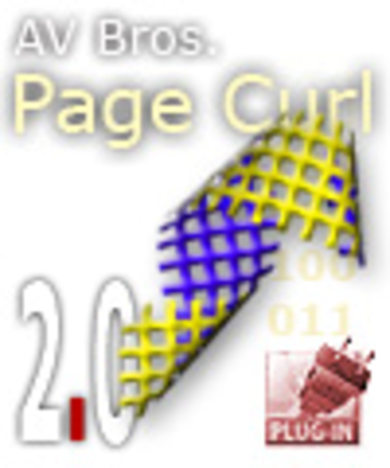 AV Bros. Page Curl 2.0 for Windows Screenshot