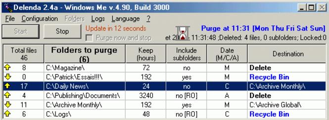Delenda Cleanup Software SITE LICENSE Screenshot 1