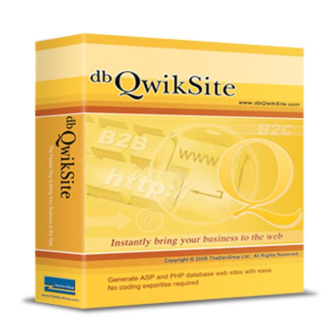 dbQwikSite Pro Screenshot