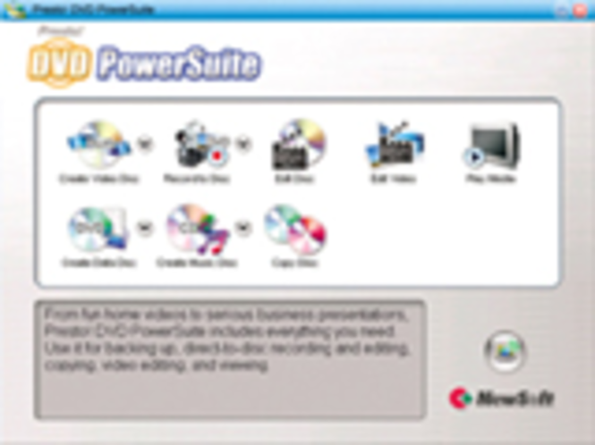 Presto! DVD PowerSuite/ English/ ESD Screenshot