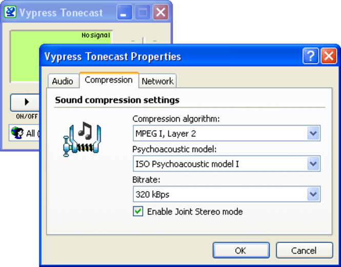 Vypress Tonecast Screenshot 1