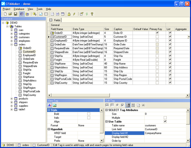 CFMMaker Screenshot