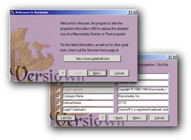 Versiown Screenshot