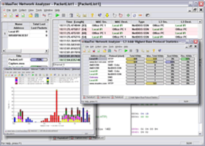 MaaTec Network Analyzer Pro Screenshot