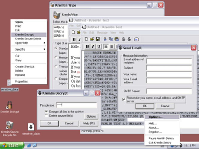 Kremlin Encrypt Screenshot 1