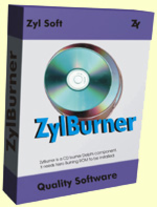 ZylBurner - Single Developer License Screenshot