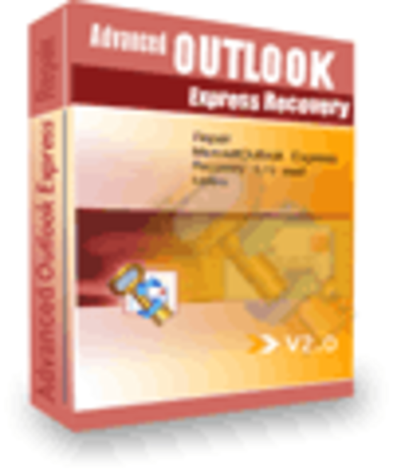Advanced Outlook Express Recovery(Business License) Screenshot