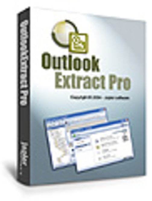 OutlookExtractPro Screenshot