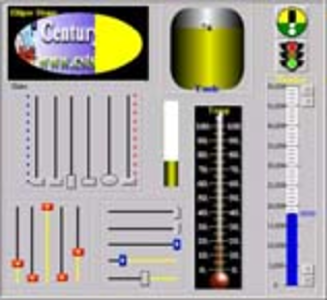 CST Slider ActiveX Screenshot