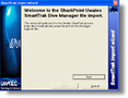 SmartTrak Manager logbook Import for SharkPoint for Windows 1